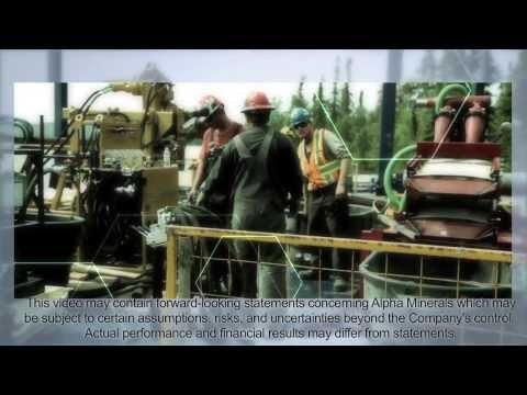 Alpha Minerals Patterson Lake South, Summer 2013 Drill Program Corporate Video #2