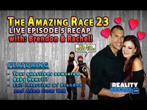 The Amazing Race 23 EP5 Recap w/ Rachel Reilly & Brendon Villegas (Adam & Brandon too)