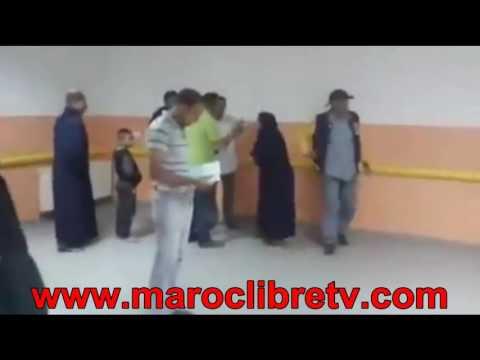 """الفرشة ديال بصح ـ شوهة مستشفى الجديدة """". سيدة محيحة : السبيطار ما فيه واااااالو"""