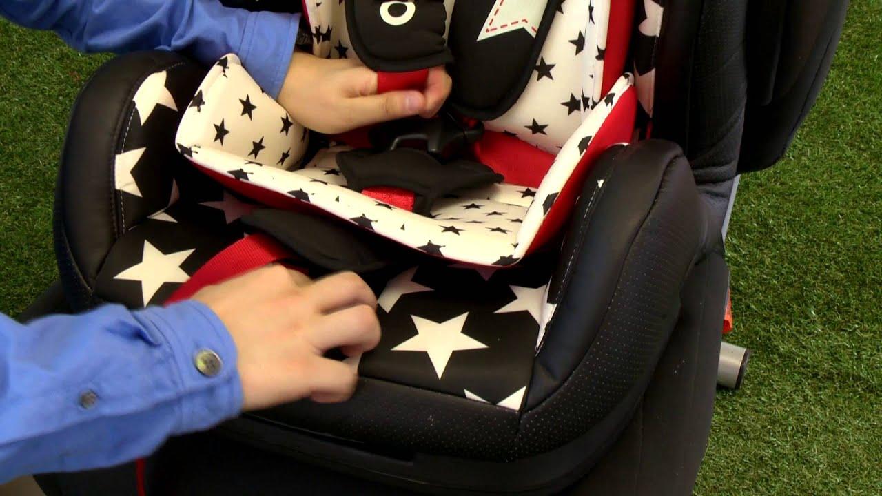 Cosatto Zoomi  Car Seat Instructions