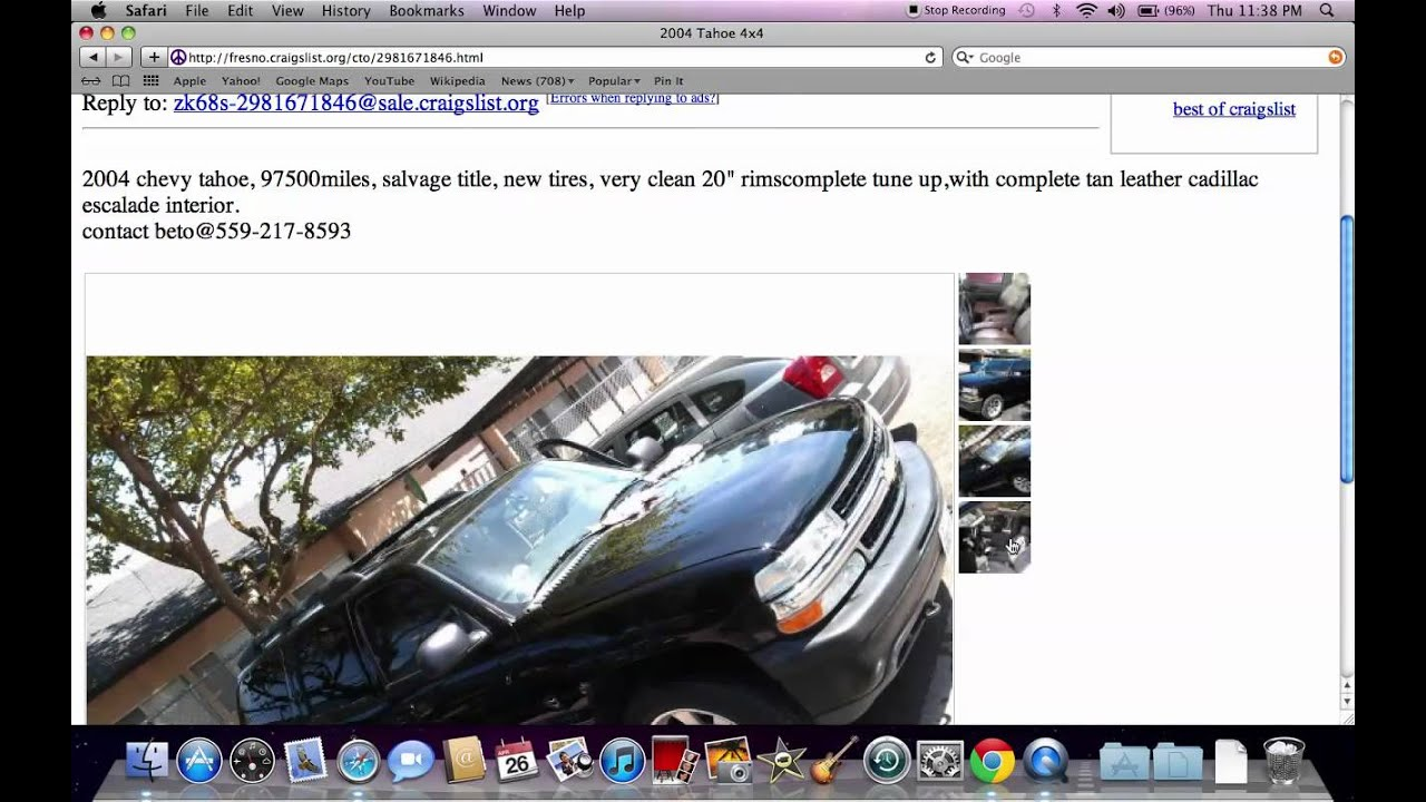 Craigslist Madera Used Cars and Trucks - Under $1400 Model ...