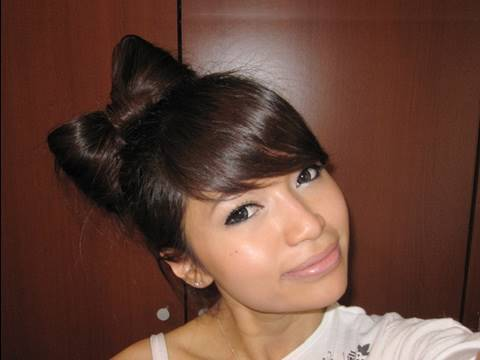 Hair Bow Tutorial Hairstyle for Short and Long Hair,