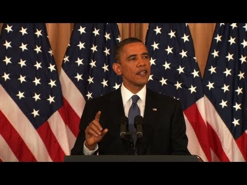 - ‪Watch President Obama's Full Speech on Mideast Policy‬‏