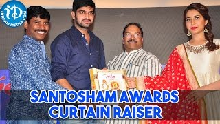 Santosham Awards Curtain Raiser Press Meet