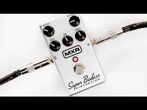 MXR M75 Super Bad Ass Distortion Guitar Effects Pedal