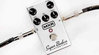 Watch the Trade Secrets Video, MXR M75 Super Badass Distortion Pedal Video