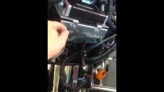 How To Mount An Amplifier / Stereo Install In Harley