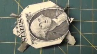 Dollar Origami How To Make An Origami Turtle From A