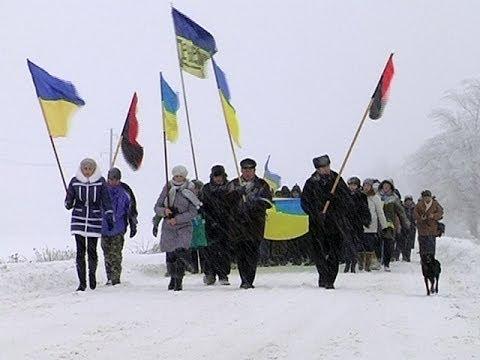 До Коломиї йдуть пішки мітингувальники із навколишніх сіл