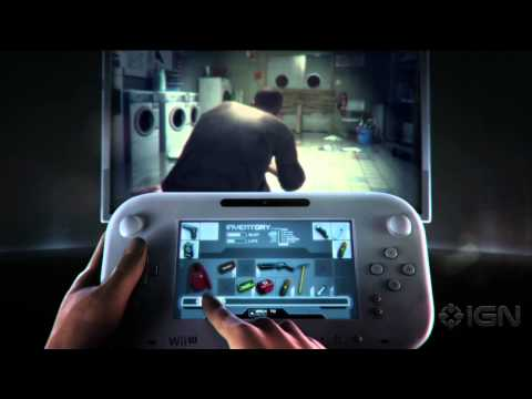 ZombiU Gameplay Trailer - Nintendo E3 2012 Press Conference