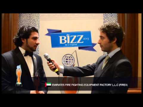 THE BIZZ 2013 - INTERVIEW EMIRATES FIRE FIGHTING EQUIPMENT FACTORY L.L.C. (FIREX)