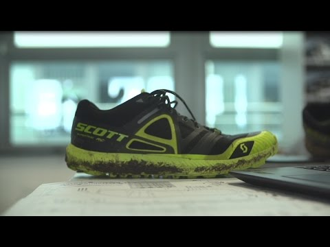 Scott Supertrac RC Off-Road Running Shoe - Black/Yellow Mens