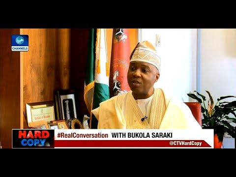 Hard Copy: Bukola Saraki Explains Delay In Passage Of PIB