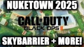 Black Ops 2 Glitches: *NEW* On Top Of Nuketown 2025 Sky