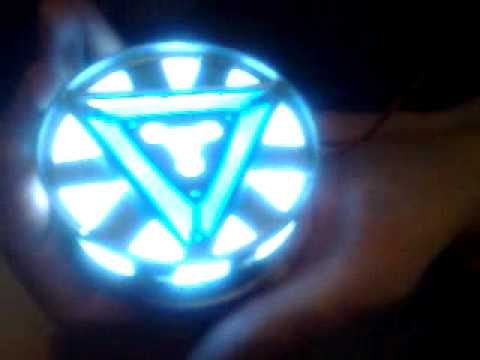 Iron Man 2 Mark VI Arc Reactor Prop Replica
