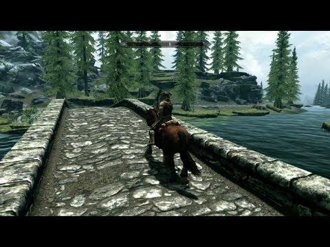 The Elder Scrolls V: Skyrim - Introduction Gameplay (PC, PS3, Xbox 360)
