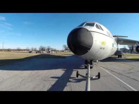 C-141 'Hanoi Taxi' Aircraft Move Time-Lapse