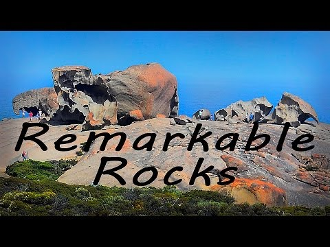 Kangaroo Island - cz. 2 Remarkable Rocks