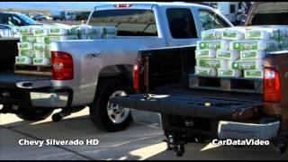 Chevy Silverado HD Pickup Payload Test Vs.Ford SuperDuty