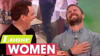 John Barrowman Teaches Stephen Amell What Budgie Smugglers Are! | Loose Women