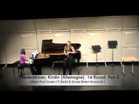 Niederstraser, Kirstin Allemagne 1st Round Part 2