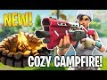 NEW UPDATE COZY CAMPFIRE Fortnite Battle Royale