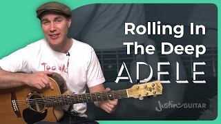How To Play Rolling In The Deep By Adele (Guitar Lesson SB