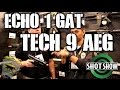 DesertFox Airsoft SHOT Show 2015: ECHO 1 GAT (Tech 9 AEG)