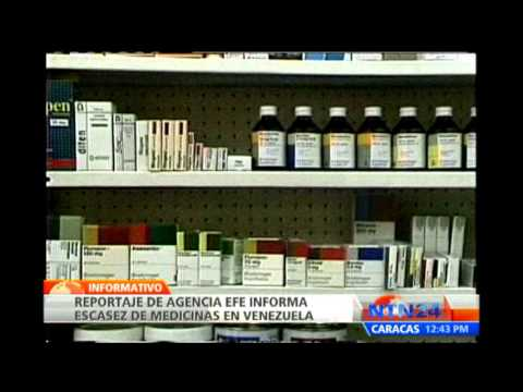 Crtica situacin en Venezuela por escasez de medicamentos