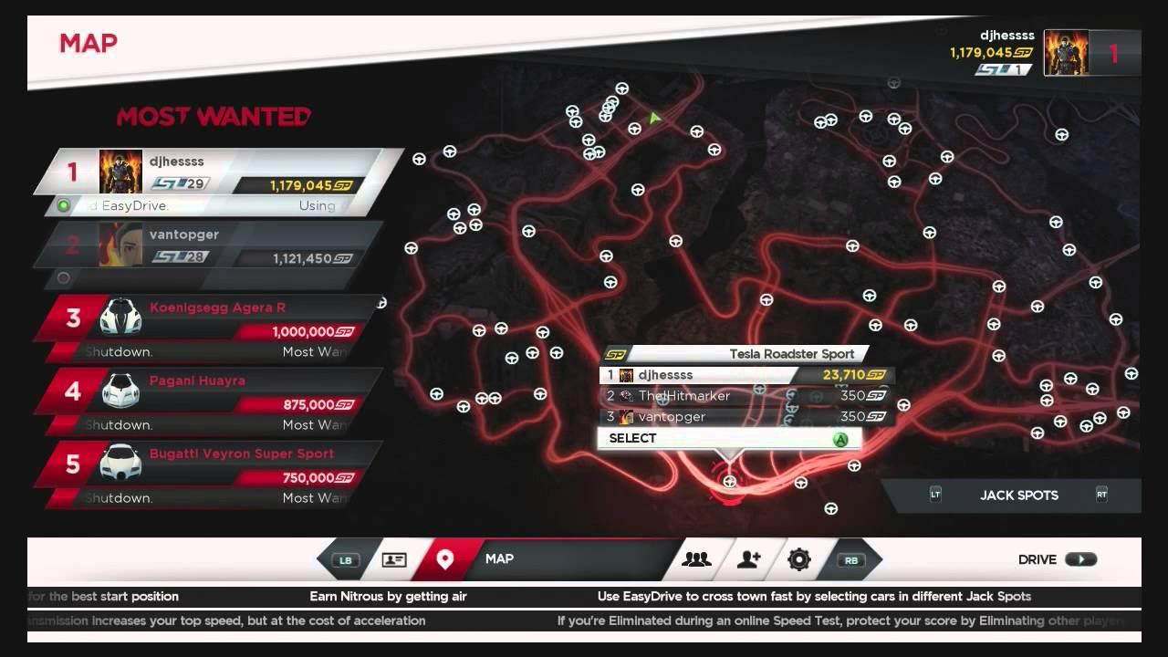 all jack spots location guide need for speed most wanted nfs01 hd youtube. Black Bedroom Furniture Sets. Home Design Ideas