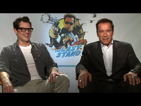 'The Last Stand' Arnold Schwarzenegger and Johnny Knoxville Interview
