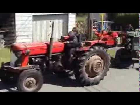Défilé vieux tracteur Volaiville 2013