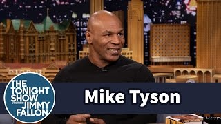 Mike Tyson Creeped out Pumpkin