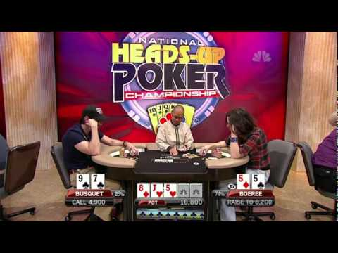 2011 National Heads-Up Poker Championship Episode 4 HD