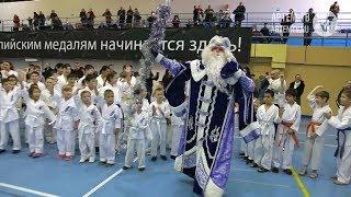 Юные спортсмены Артёма встали в дружный хоровод