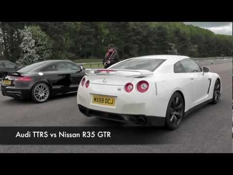 Audi TTRS vs Nissan R35 GTR