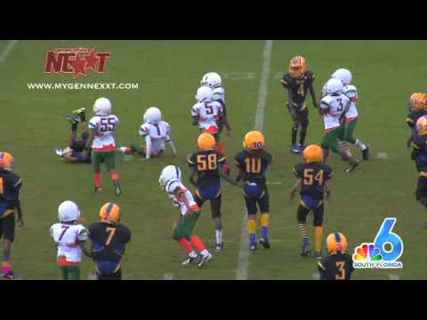 2012 State Championship - Gwen Cherry Bulls Bantam v Fort Lauderdale Hurricanes 85s