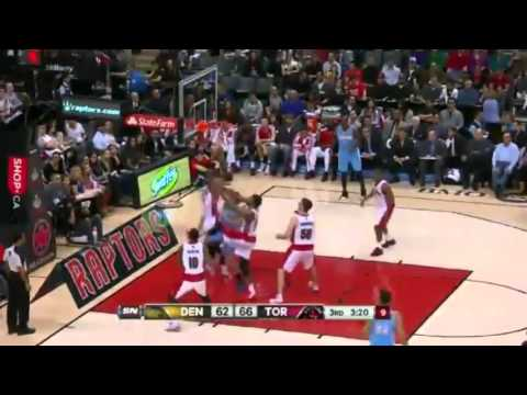 Mozgov's Winning Night   Denver Nuggets vs Toronto Raptors   December 1  2013   NBA 2013 14 Season