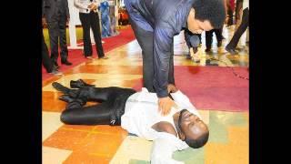 Nollywood Actor Jim Iyke Receives Deliverance At TB Joshua