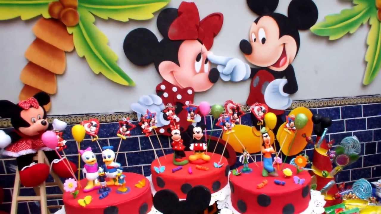 V o show eventos espectaculos decoracion mickey mouse - Decoracion para fiestas infantiles mickey mouse ...