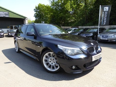 2005 BMW 535d Sport Touring for Sale at George Kingsley Vehicle Sales,, Essex. 01206 728888