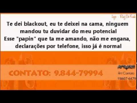 Mc Bruninho Do NB Invasor De Pensamentos - Com a Letra ( Dj's Tropesso e Douglas )