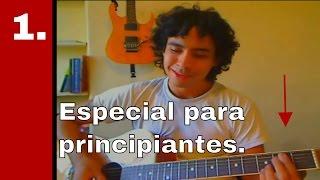 Clases de guitarra para principiantes