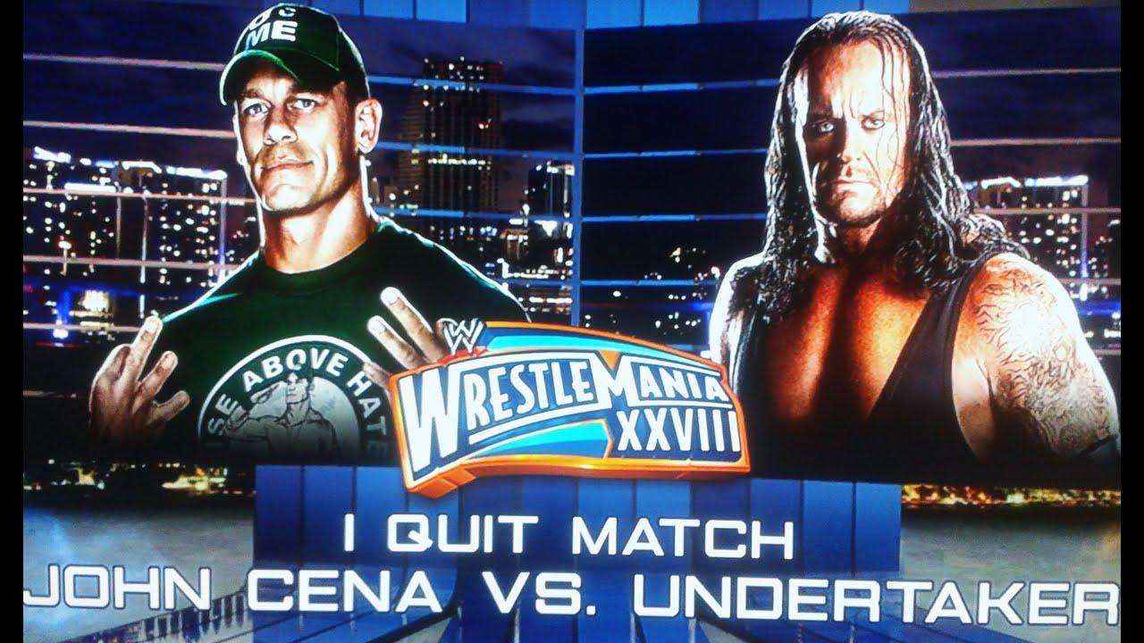 Undertaker Vs John Cena Wrestlemania 30 Undertaker vs J...