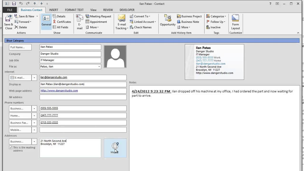 how to add out of office in outlook 2013