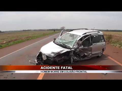 28/09/2018 - Motorista perde a vida em acidente na Rodovia Assis Chateaubriand em Guaíra