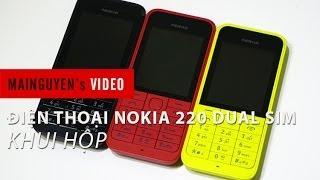 Khui Hộp điện Thoại Nokia 220 Dual SIM Www