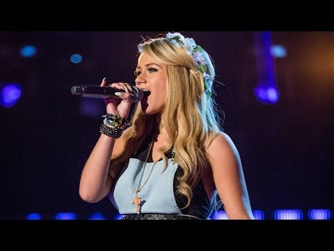 Luciee Marie Closier performs 'Mama Do' - The Voice UK 2014: Blind Auditions 7 - BBC One