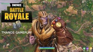 Fortnite - Thanos Játékmenet