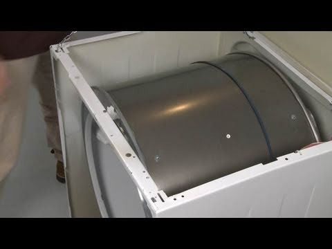 Kenmore Frigidaire Parts >> Dryer Belt Replacement – Frigidaire Dryer Repair (Part #WE12X10009) - YouTube